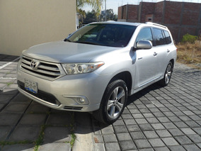 Toyota Highlander Limited Aa Qc Piel R-19 4x4 At Impecable