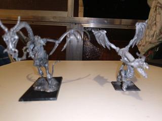 Wyvern Dragón Esqueleto Warhammer Games Workshop Lote