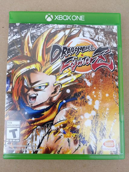 Dragon Ball Fighter Z Xbox One Midia Fisica Americana
