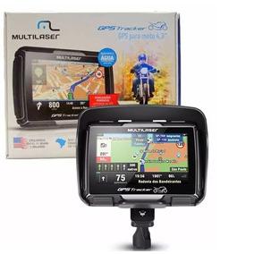 Navegador Gps Multilaser Tracker Para Moto Tela 4.3´ - Gp04