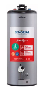 Termotanque Señorial Family A Gas 85 Lts Gratis Amba