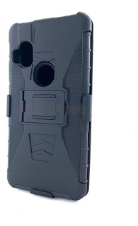 Funda Uso Rudo Protector Motorola Moto One Hyper Mica Gratis