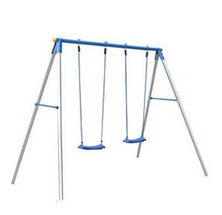 Set De 2 Columpios Infantiles Azul