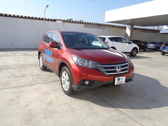 Honda Cr-v 2.4 Ex Premium At 2014 Rojo Pasion