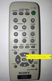 Controle Remoto Sony Mod Rm-sr211