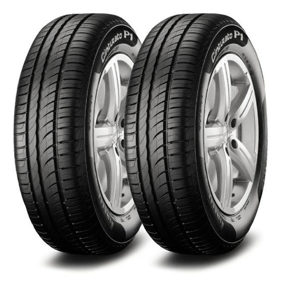 Kit X2 Pirelli P1 Cint 195/60 R15 88h Neumen Ahora18