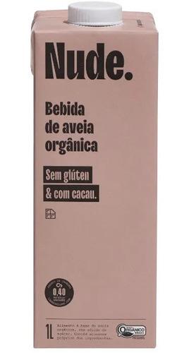 Imagem 1 de 1 de Bebida De Aveia Organico Cacau Nude 1l