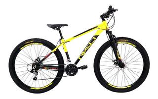 Tec-jb Deportes - Bicicleta Selva 27.5 H Amarillo/negro Mat