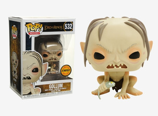 Funko Pop Movies Lord Of The Rings Gollum Chase