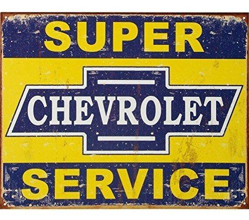 Imagen 1 de 1 de Empresas Desesperadas Super Chevy Servicio Metal Coleccionab