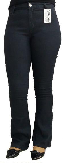Calças Jeans Flare Cintura Alta Boca Sino Promoção