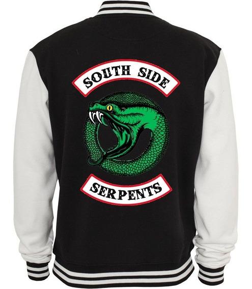 Jaqueta Riverdale Serpentes Moletom Casaco Blusa Nova Logo