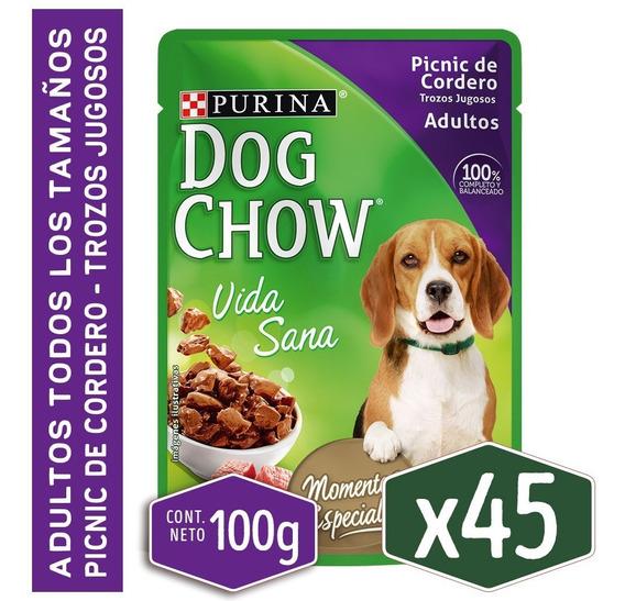 Pack Dog Chow® Adulto Picnic De Cordero 100g