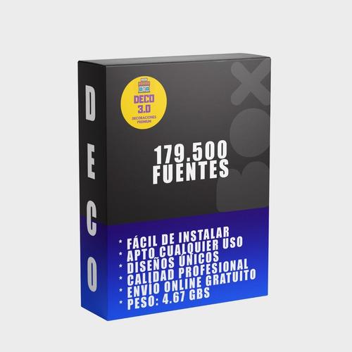 179.000 Fuentes Increíbles Para Cualquier Tipo De Trabajo