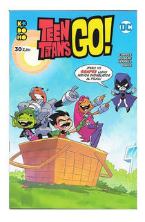 Teen Titans Go! #30 - Ed. Kodomo - Estilo Cartoon Network