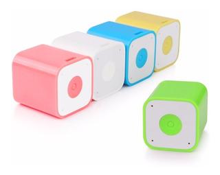 Mini Parlante Portátil Bluetooth Con Disparador Selfie