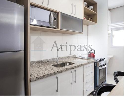 Imagem 1 de 8 de Apartamento Para Locação 54m² - Santo André -vila Eldízia , 2 Quartos, 1 Vaga! Foto Ilustrativa - At949