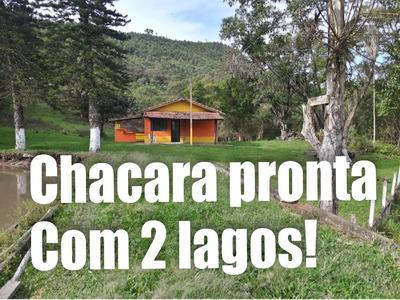 05e - Linda Chácara Com Vista Para 2 Lagos
