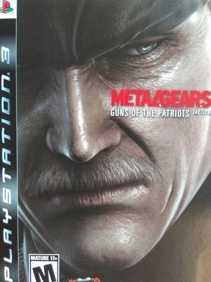 Metal Gear Solid 4 Ps3 Original , A Pronta Entrega