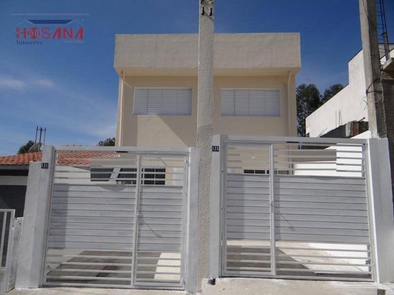Sobrado Com 2 Dormitórios À Venda, 60 M² Por R$ 195.000 - Jardim Santo Antonio - Franco Da Rocha/sp - So0783