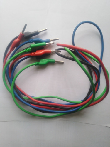 Imagen 1 de 7 de Cable Para Multímetro De Doble Extremo