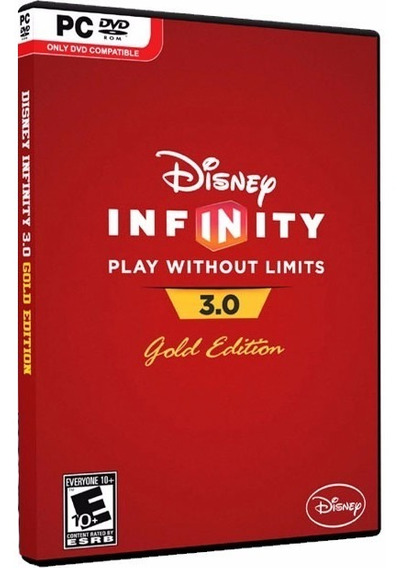 Disney Infinity 3.0 Gold Edition - Dvd Pc - Frete 8 Reais