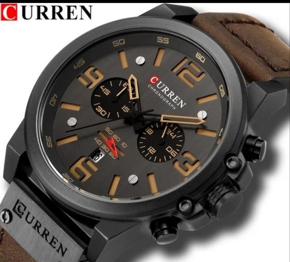 Relógio De Pulso Curren 8314 Cronografo Funcional