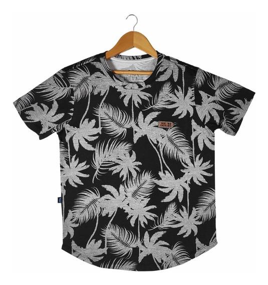 Kit Camisetas Long Line Infantil Juvenil 04 Peças - Lindas