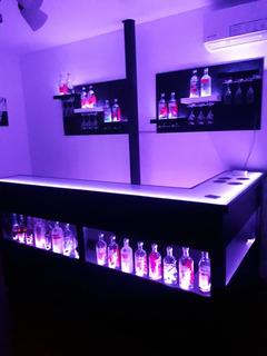 Barra Bar Con Mesada De Vidrio