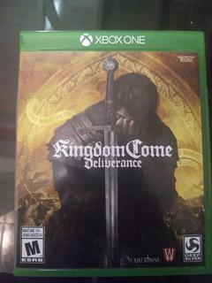 Kingdom Come Deliverance Xbox One Fisico