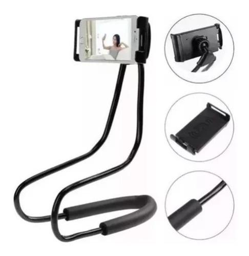 Soporte Para Celulares Tabletas Holder Para El Cuello Flex