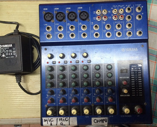 Mezcladora Análoga Yamaha Mg 10/2