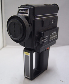 Câmera Filmadora Minolta Xl-225 Sound Antiga
