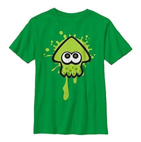 Camiseta Verde Con Gráfico