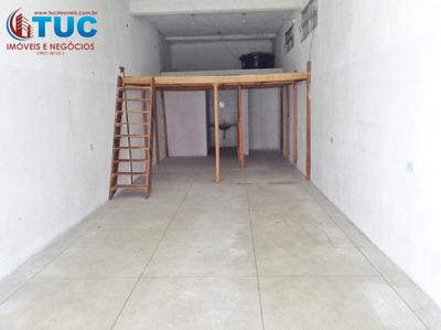 Salão Comercial 02 Banheiros/mezanino -80m²- Jd Laura Sbc - 2004