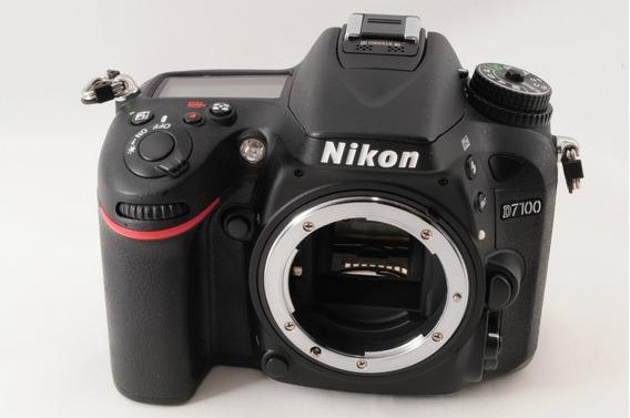 Pronta Entrega = Camera Nikon Dslr Dx D7100 Sem/clicks