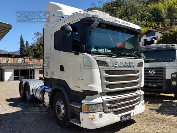 Scania R-440 2014 6x4 Bug Leve