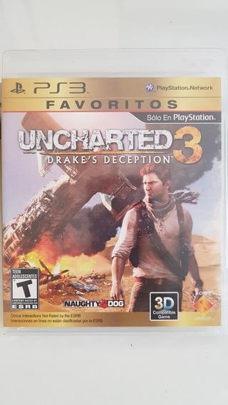 Uncharted 3 Para Ps3