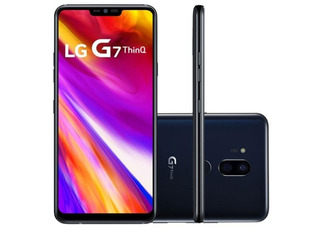 Lg G7 Thinq G710 G710emw - Dual 64gb 16mp 4gb Ram - Novo