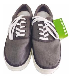 Zapatos Crocs Norlin Canvas Plim Caballero