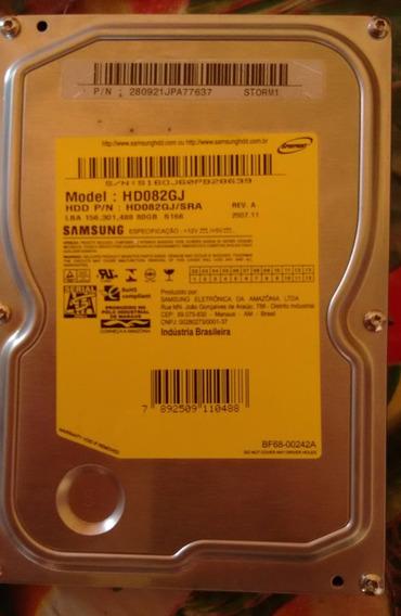 Placa Logica Hd Samsung Hd082gj Hd082gj/sra 80gb Sata 7200