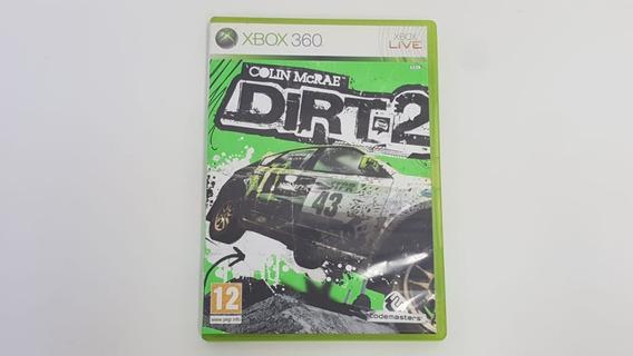 Dirt 2 - Xbox 360 - Original - Mídia Fisica - Usado