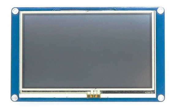 Tela Lcd Nextion 7 Tft 800×480 Touch Para