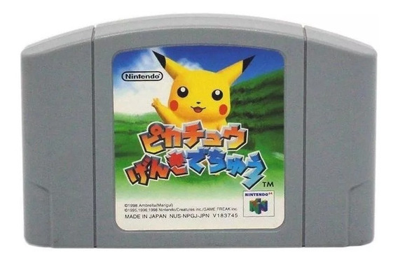 Hey You Pikachu N64 Japonês Nintendo 64