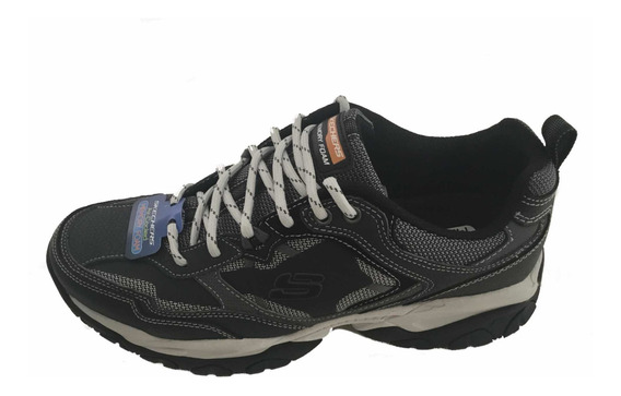 Tenis Skechers Sparta 2.0 Navy Blacks Con Memory Foam