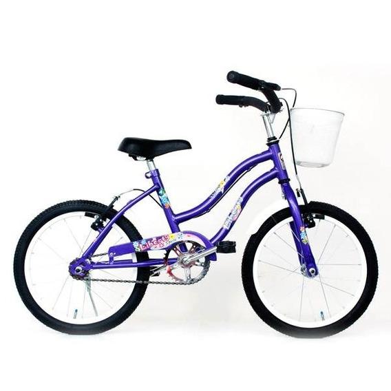 Bicicleta Rodado 16 Con Canasto Belgor