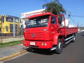Vw 13 180 2011 Vermelho Único Dono Itália Caminhões R7991