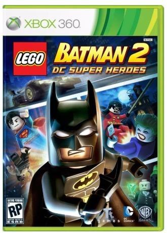 Lego Batman 2 Dc Super Heroes Xbox 360 Original Frete R$12