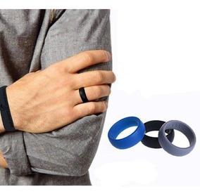 Kit 3 Anéis Silicone (masculino) Fitness - Frete/grátis
