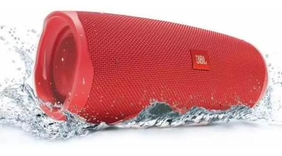Caixa De Som Jbl Charge 4 Original Speake Bluetooth Vermelho